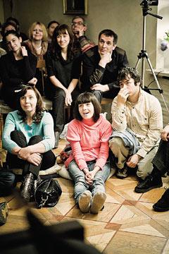 Открытый урок-концерт для взрослых в рамках проекта журнала Seasons «Школа для дураков». Урок состоялся 12 ноября 2009 года в музее-квартире А. Н. Толстого