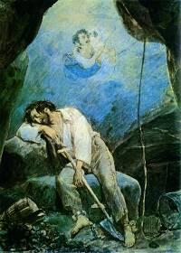 Сон Волконского. Неизвестный художник, 1840-е годы