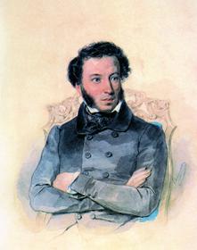 П. Соколов. Александр Сергеевич Пушкиню 1836