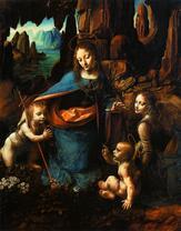 Мадонна в скалах. Ок. 1495-1508