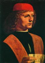 Портрет музыканта. Ок. 1487
