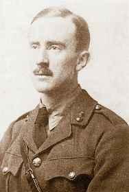 Дж Р. Р. Толкиен в годы Первой мировой войны. 1916
