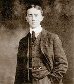 Дж Р. Р. Толкиен в студенческие годы Оксфорд. 1916